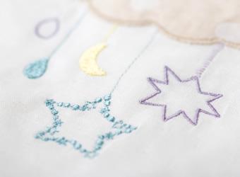 毛布刺繍アップ